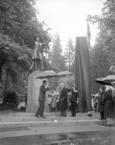 stanley statue unveiling 1960 CVA