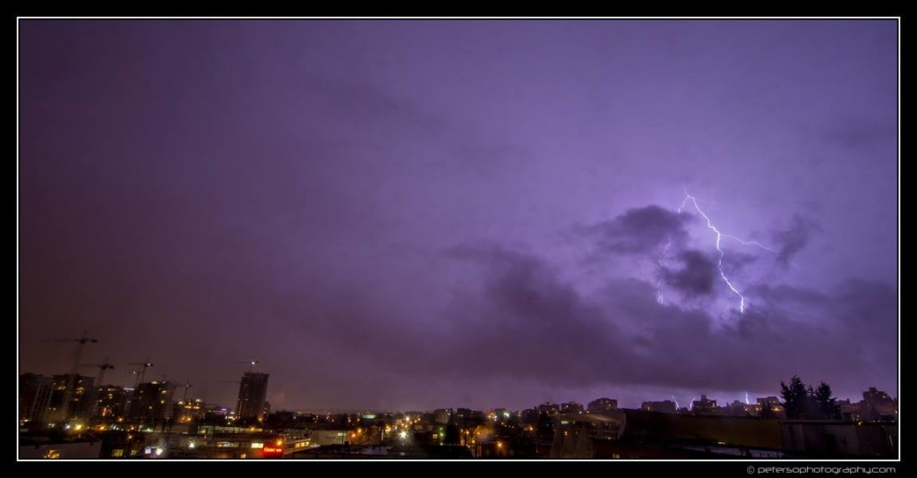 Vancouver Thunderstorm Lightning