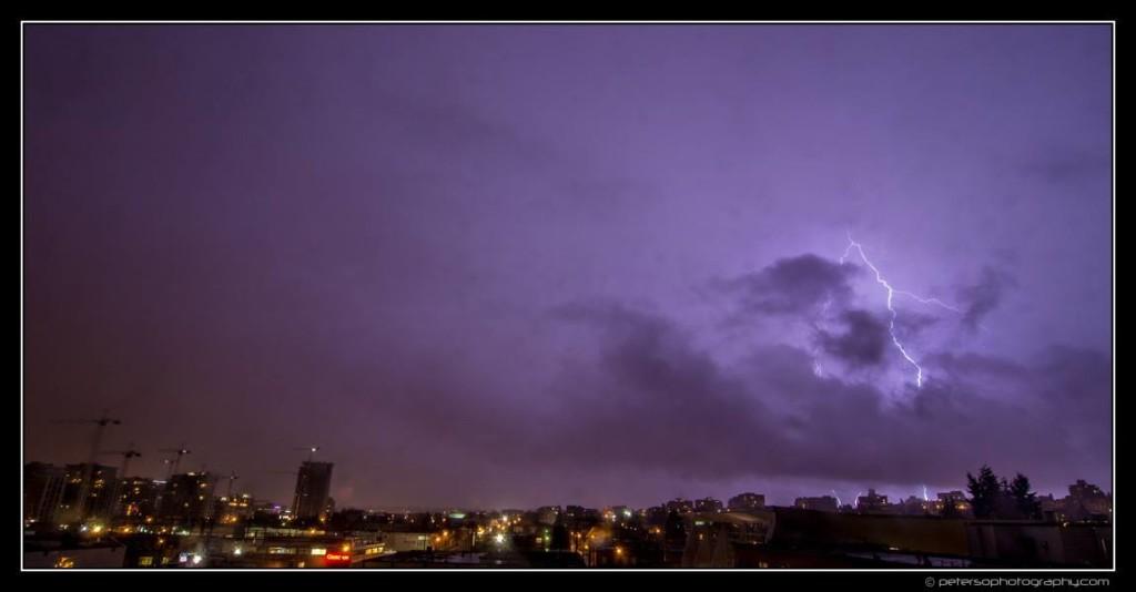 Vancouver Thunderstorm Lightning