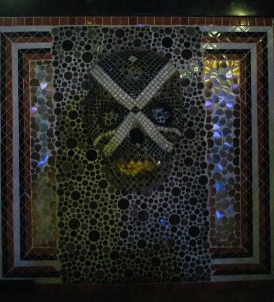 Cuchillo Restaurant Skull