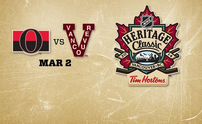 Heritage Classic Vancouver Canucks