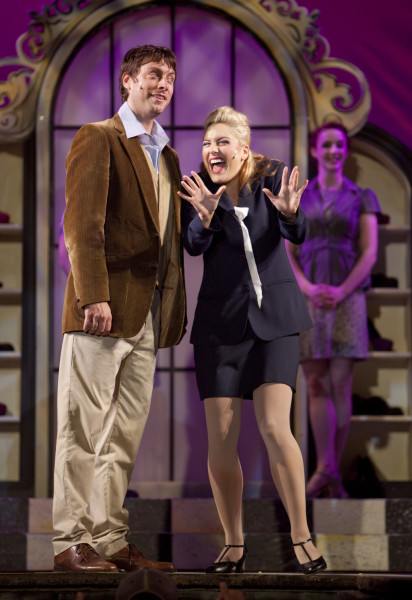 Breanne Arrigo and Scott Walters. Photo: Tim Matheson