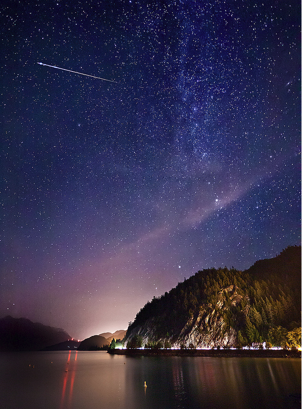 Perseid Meteor Shower Large