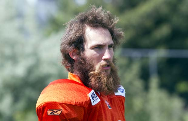 BC Lions cut kicker Hugh O'Neill. Credit to Rebecca Rempel