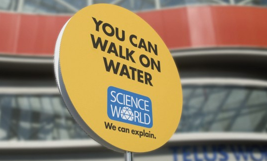 Science World Walk On Water