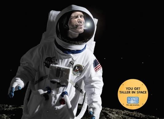 Science World Astronaut