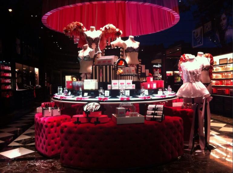 Victoria's Secret Vancouver Store inside