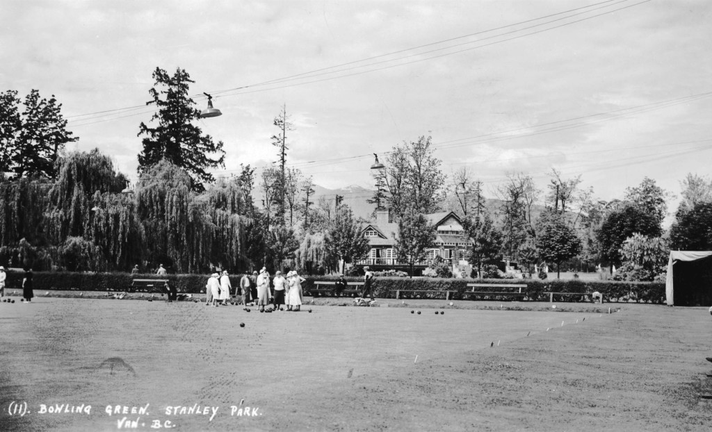 bowling green at stanley park