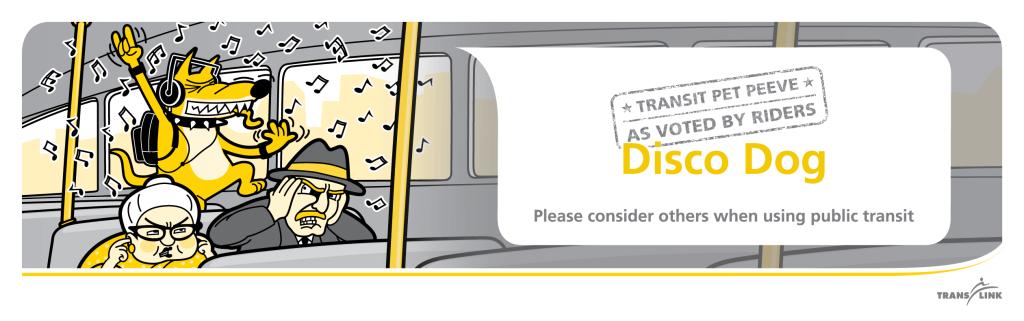 Public Transit Etiquette