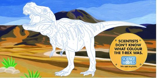 Science World T-Rex