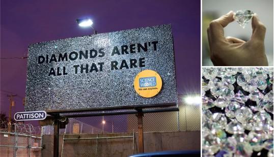 Science World Diamond Bing Billboard