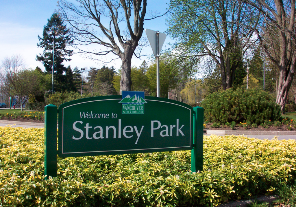 welcome to stanley park