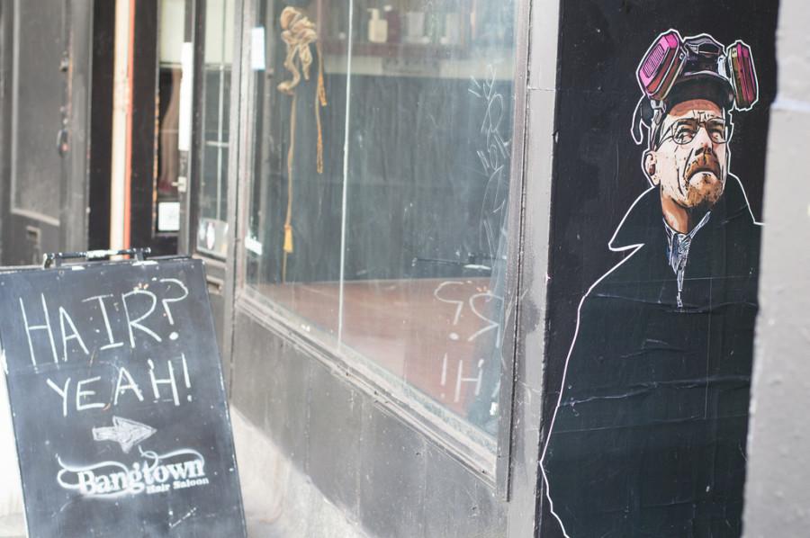 Breaking Bad Vancouver Mural