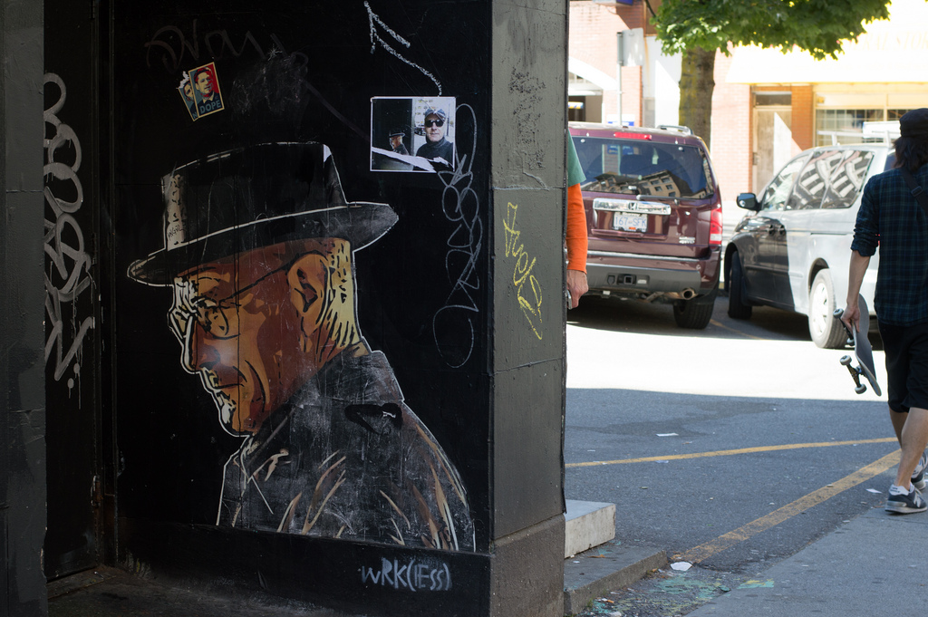 Breaking Bad Vancouver Mural Walter White