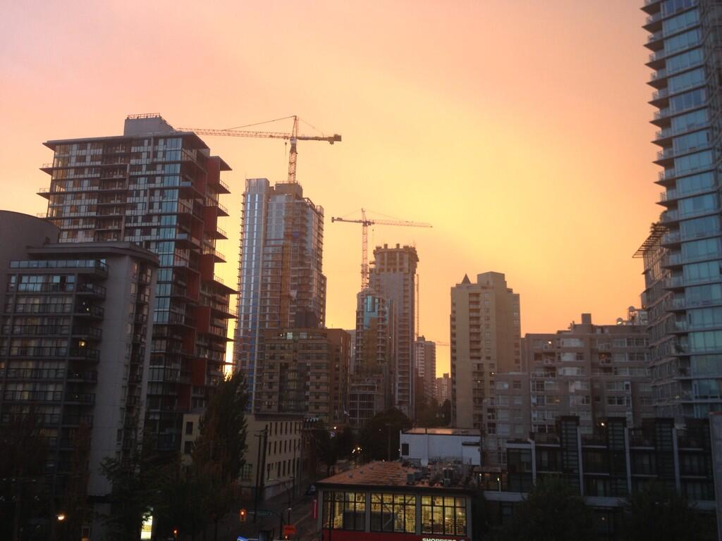 Vancouver Storm Sunset