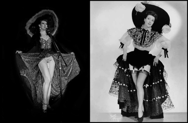 Burgundy Brixx left Gypsy Rose Lee right