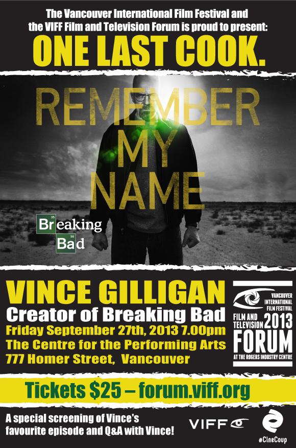 Breaking Bad - Vince Gilligan - One Last Cook
