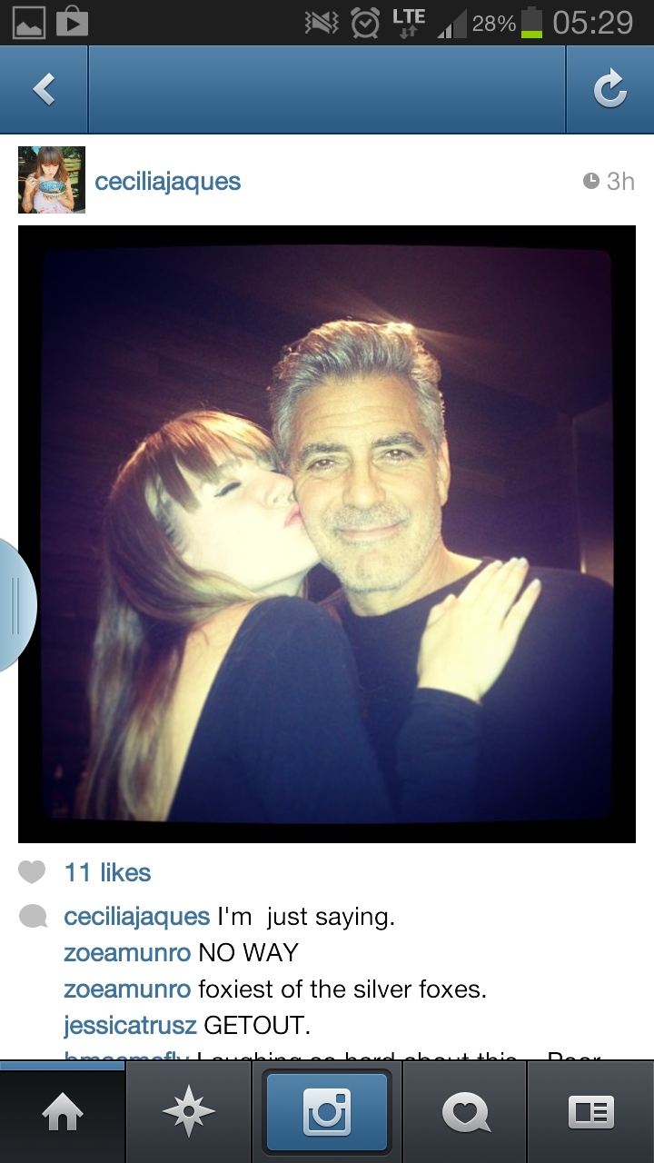 George Clooney Vancouver