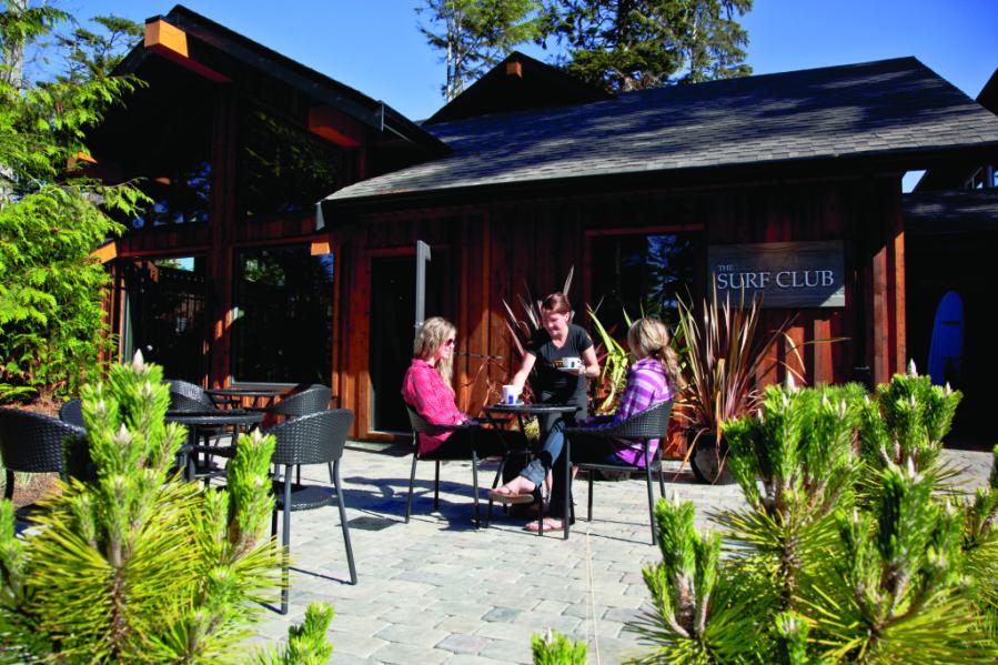 Surf Club Patio Long Beach Lodge Resort - Josh Lewis
