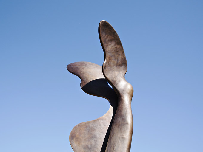 Statue of Nike - London 2012 Olympics