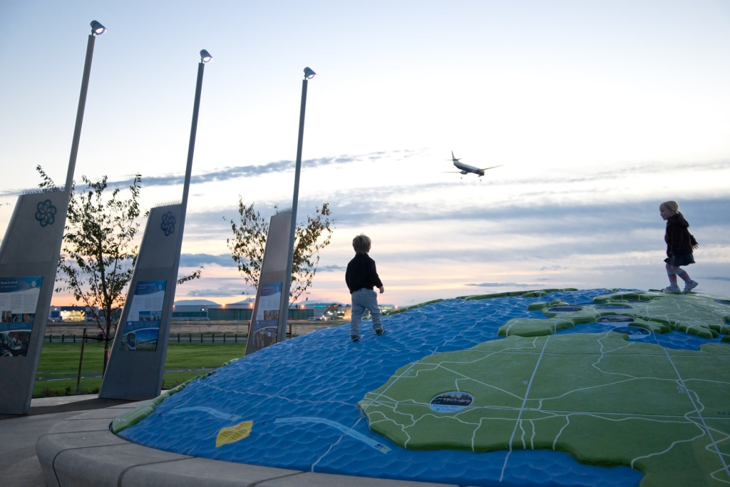 YVR Larry Berg Flight Path Park