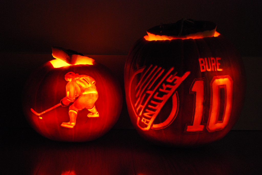 pumpkin bure Canucks