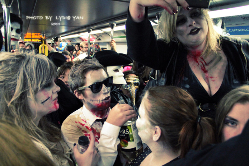 Halloween SkyTrain Party