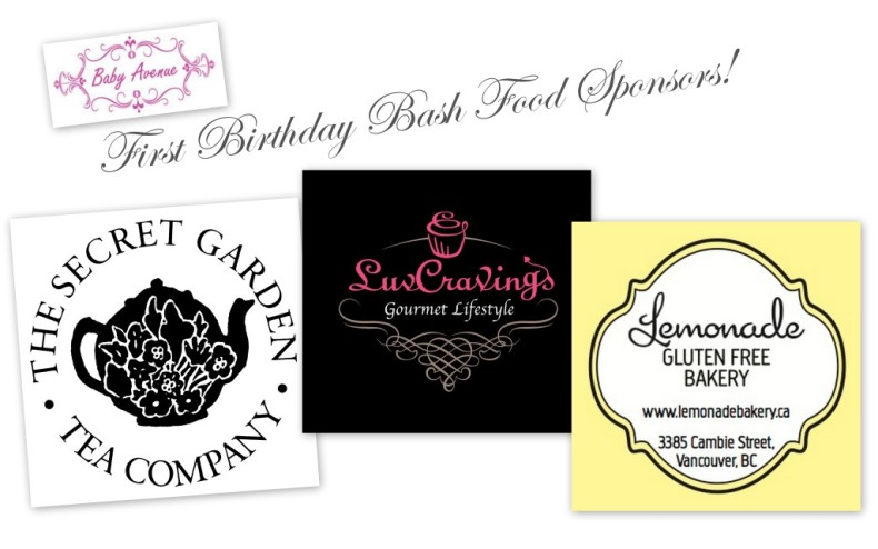 Birthday Bash Food Sponsors