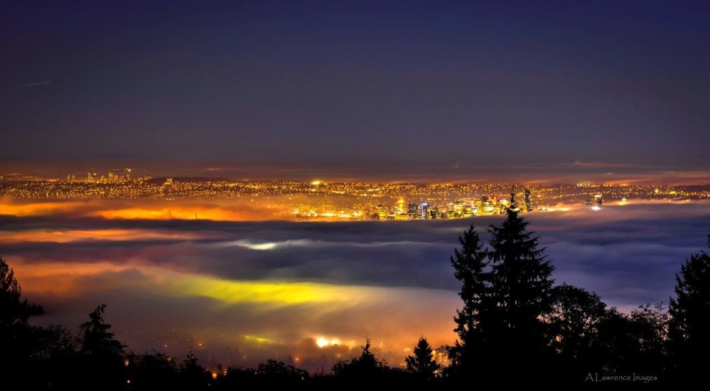 Cypress Mountain Vancouver Fog - Andrew Lawrence