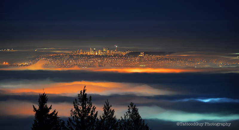 Fall Fog Vancouver