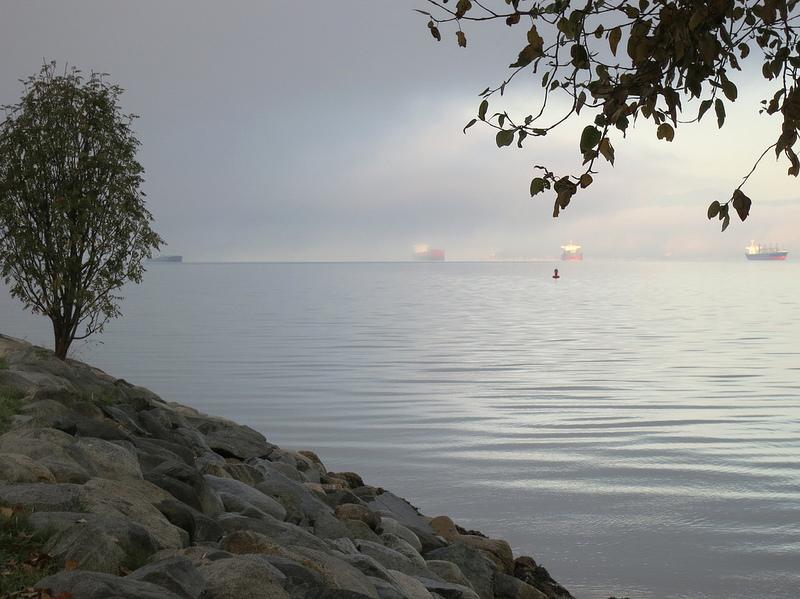 Fog English Bay
