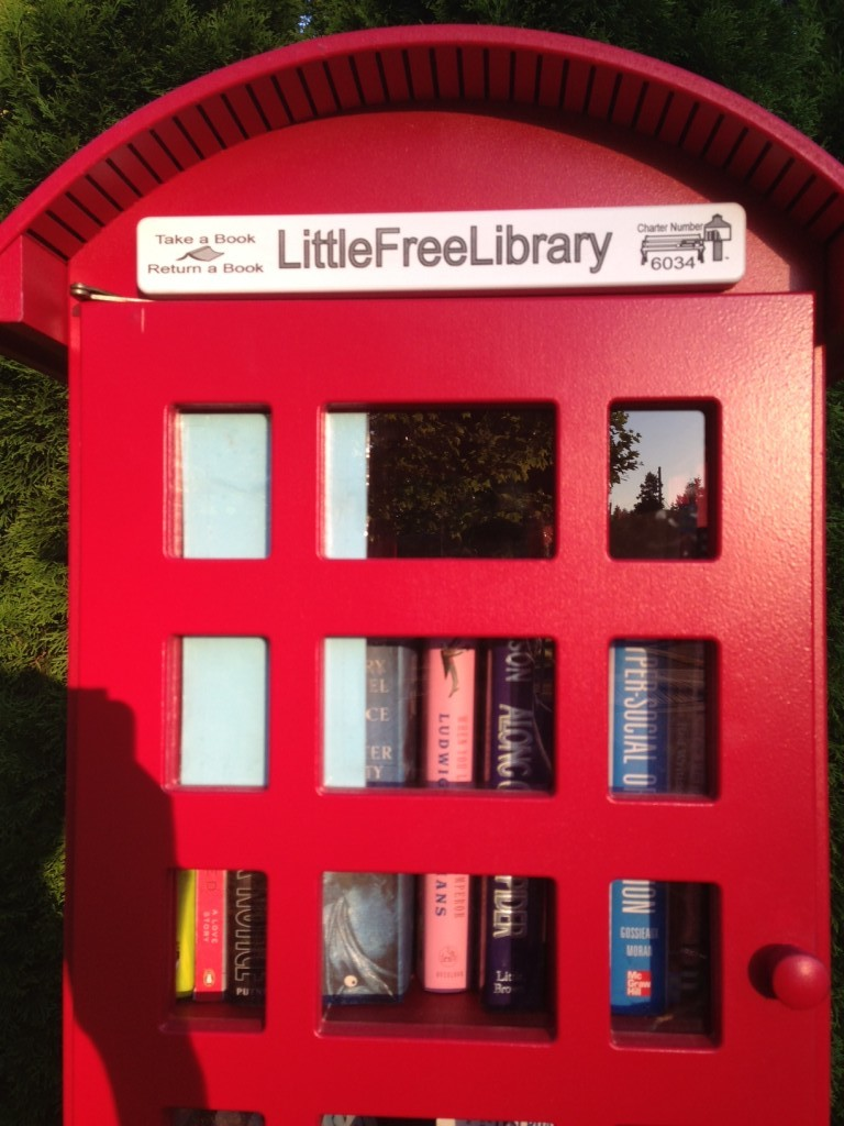 Little hutch libraries Vancouver