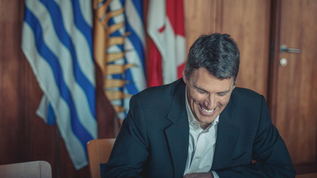 Mayor Gregor Robertson