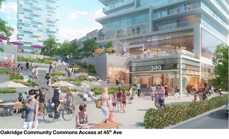 Oakridge 45th avenue access