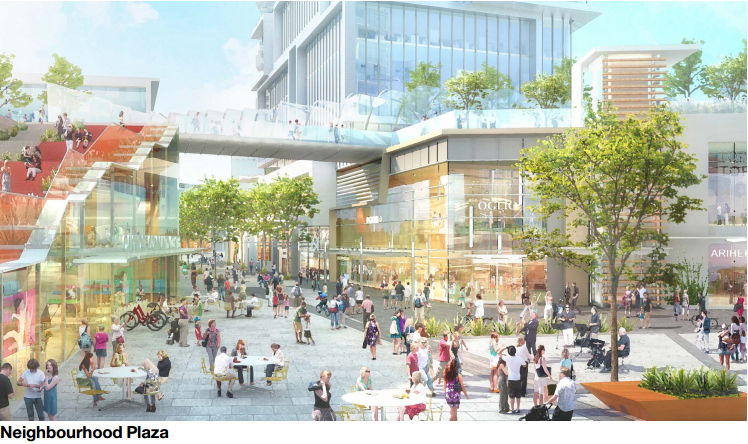 Oakridge Mall redevelopment
