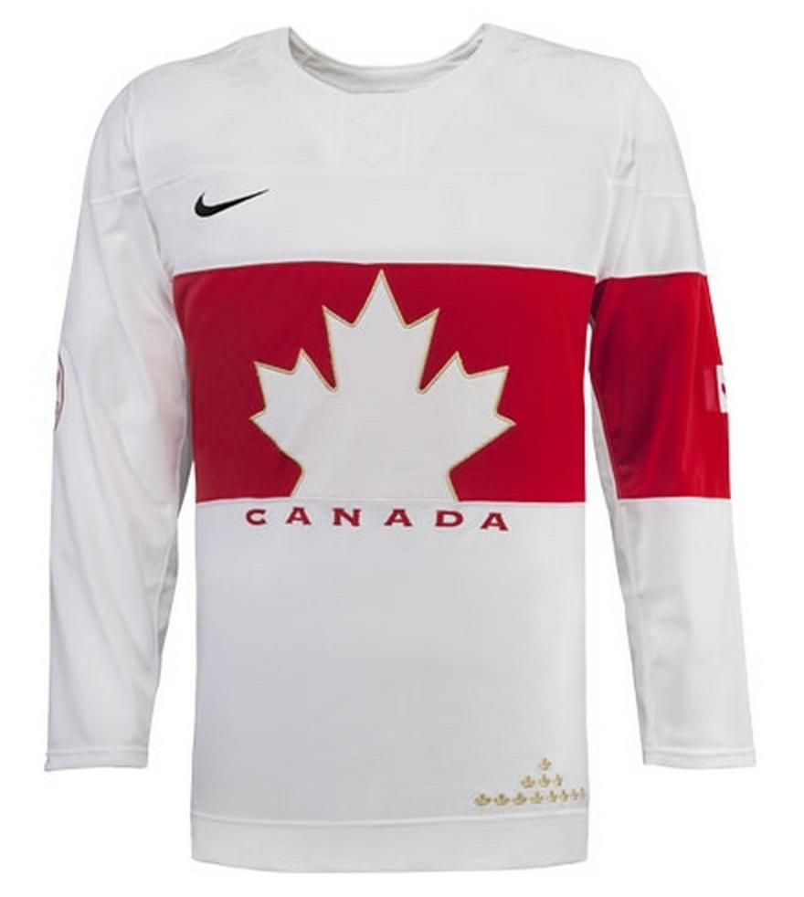 Team Canada Sochi 2014 Olympic Hockey Jersey