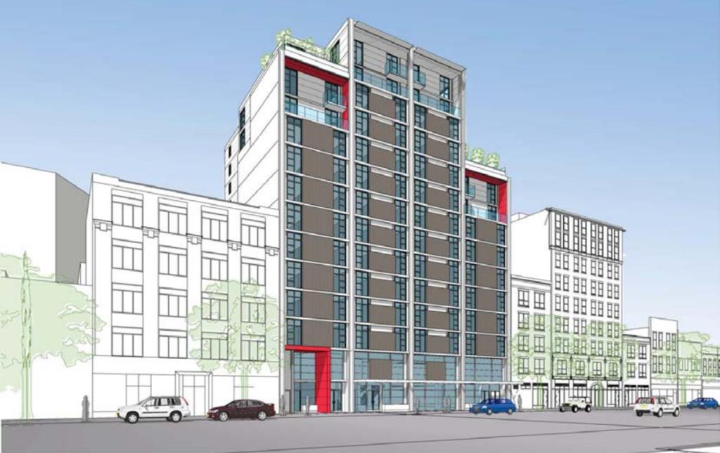 33-49 West Hastings Vancouver Downtown Eastside Social Housing Rental Housing