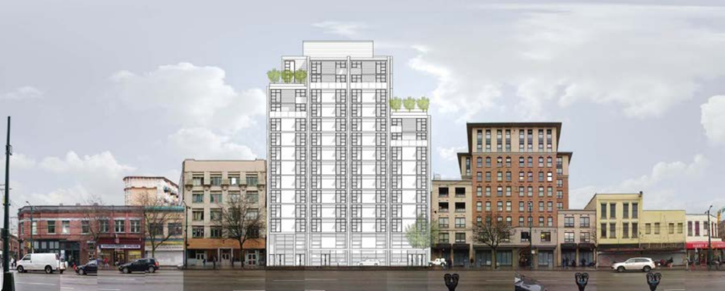 33-49 West Hastings Vancouver Downtown Eastside Social Housing Rental Housing