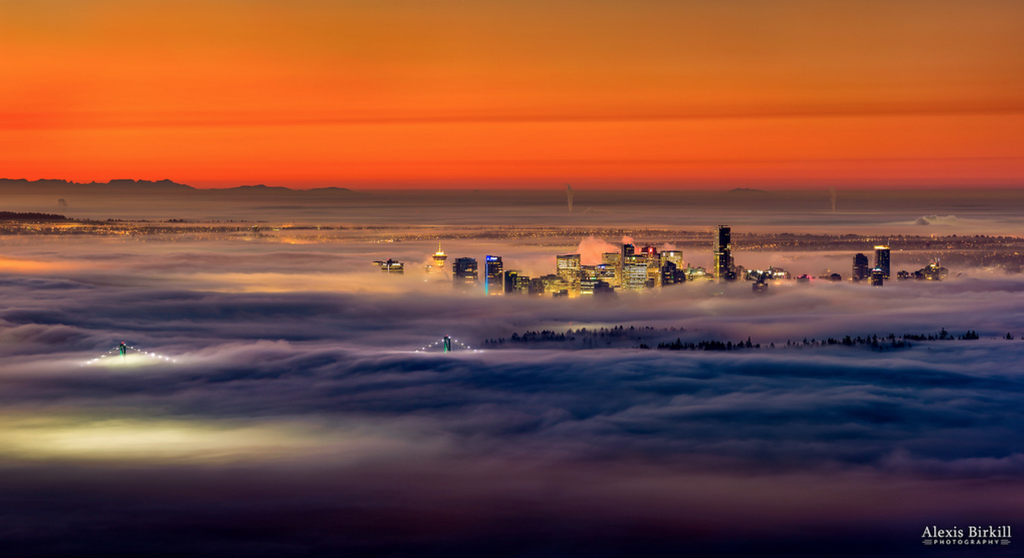 Vancouver fog