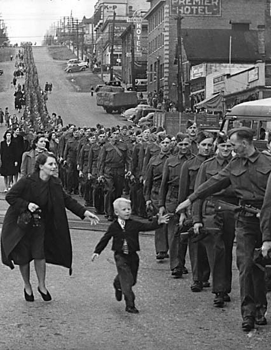 """""""Wait For Me Daddy,"""" by Claude P. Dettloff"""