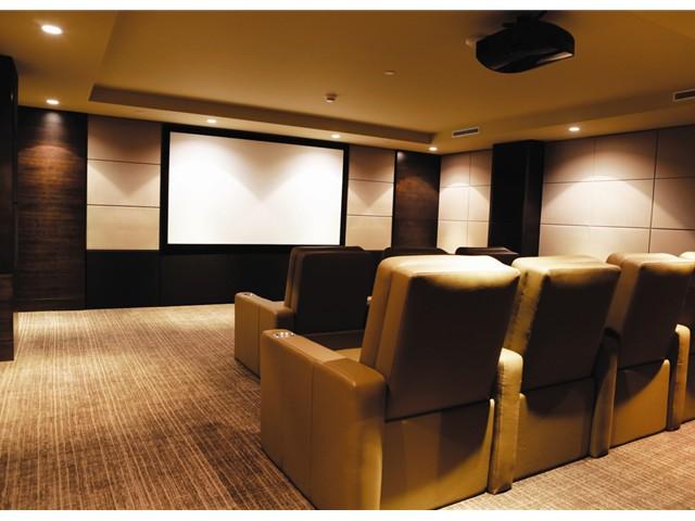 Three Harbour Green Theatre Room