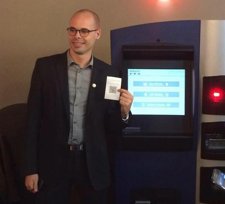 World's first bitcoin user