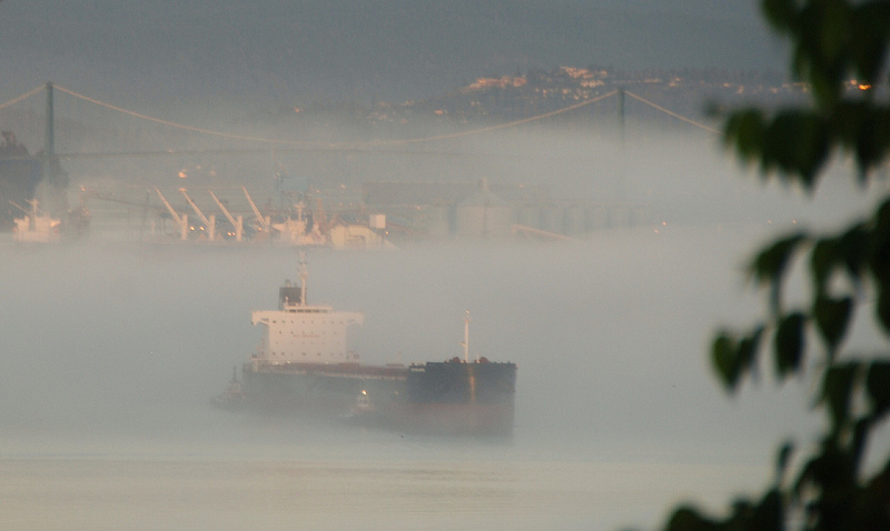 fog burrard inlet