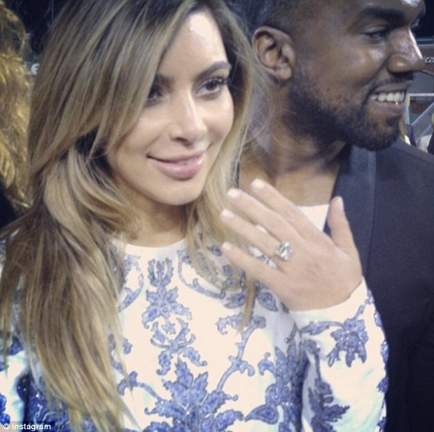 Kanye West Kim Kardashian Instagram