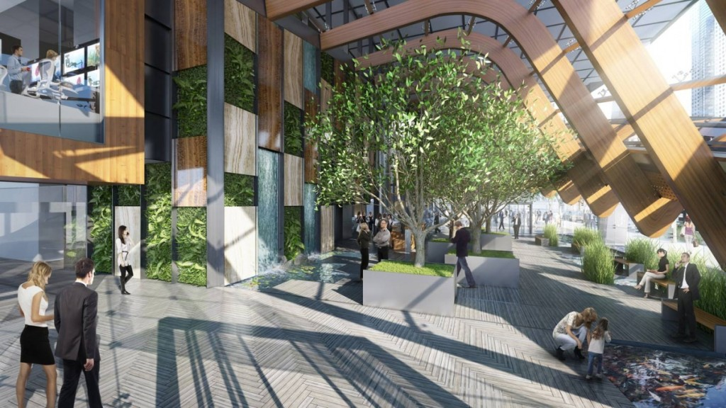 Amazon Office Space Intended Telus Garden Amazon Vancouver Office To Open At New Telus With 1000