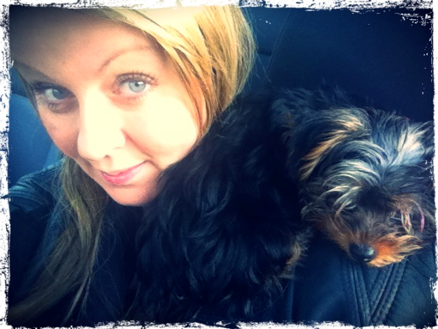 Fiona Forbes and her wee man Chewy.