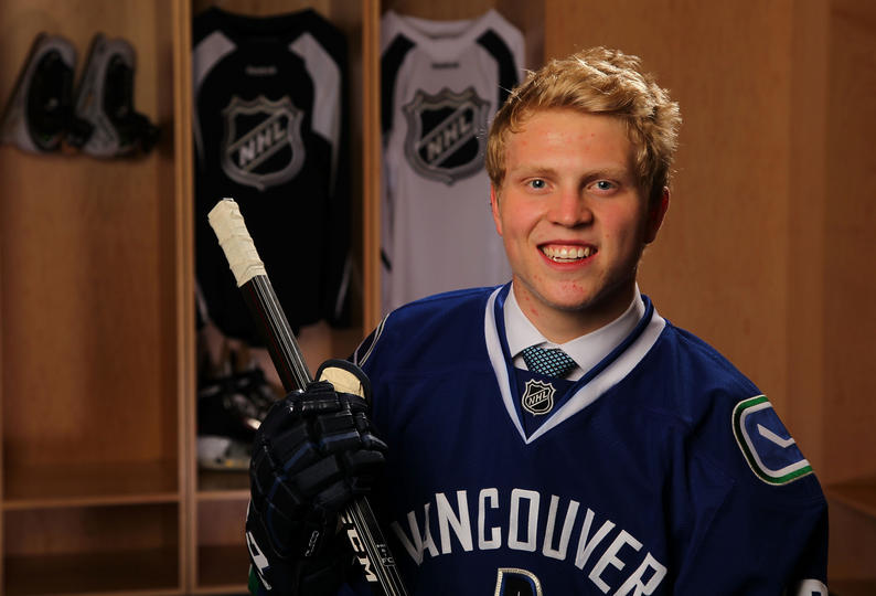 Hunter Shinkaruk Canucks