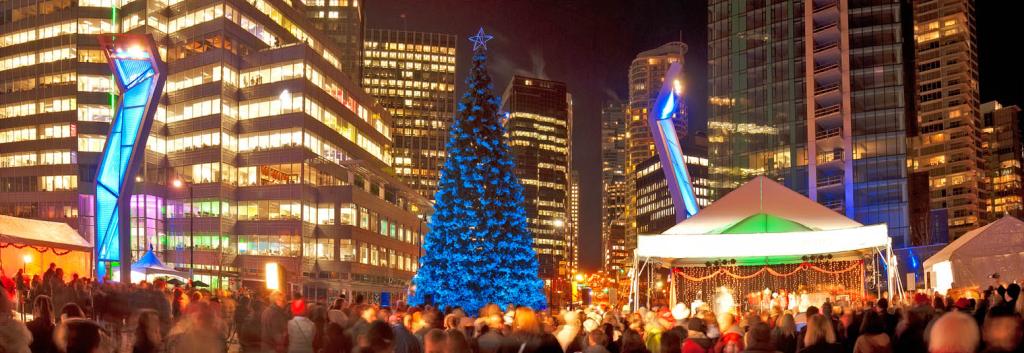 Vancouver Tree Lighting Celebration