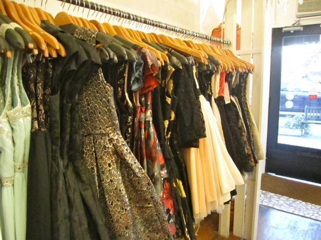 Assortment of dresses at Barefoot Contessa Main Street. Photo by Mana Mansour.