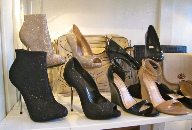 Occasion footwear at Barefoot Contessa Main Street. Photo by Mana Mansour.